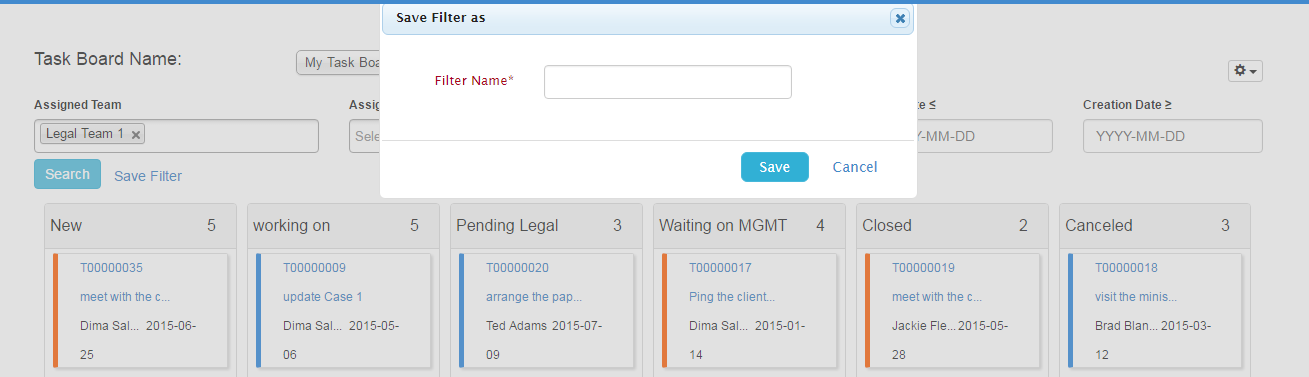 360-degree Boards - App4Legal v5 11 - IS Confluence